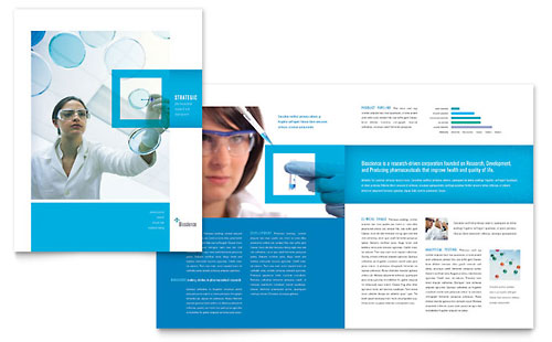 Science & Chemistry Brochure Template