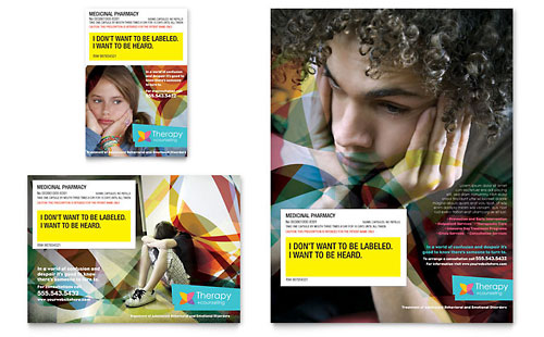 Adolescent Counseling Flyer & Ad Template