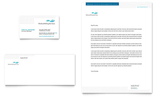 Medical Health Care Letterheads – Free Business Stationery Templates for Word