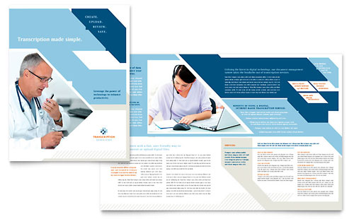 Brochure Adobe Illustrator Template 9900