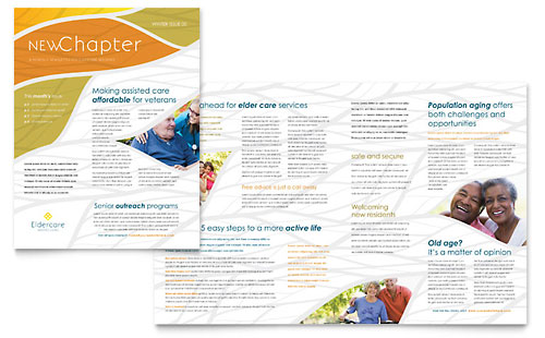 Assisted Living - Newsletter Template
