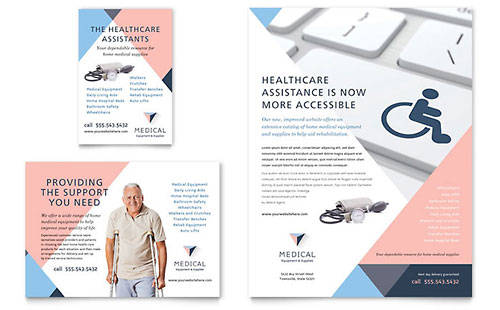 Medical & Health Care Print Ads | Templates & Designs