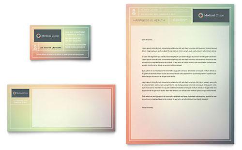 Medical Clinic - Business Card & Letterhead Template