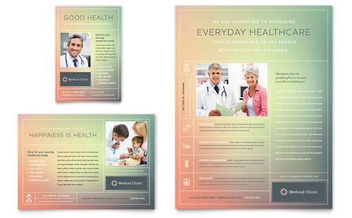 Medical Clinic Flyer & Ad Template