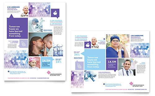 Cancer Treatment Poster Template