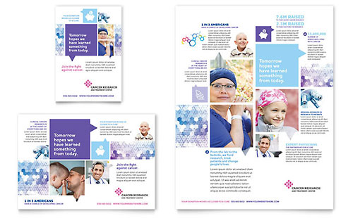 Cancer Treatment Flyer & Ad Template