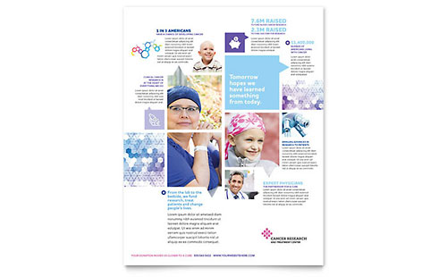 Cancer Treatment - Flyer Template