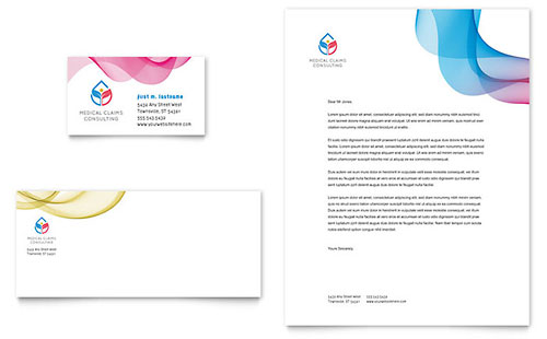 Insurance Consulting - Business Card & Letterhead Template