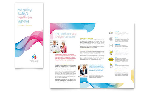 Insurance Consulting - Tri Fold Brochure Template