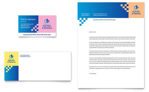 Dietitian Business Card Template