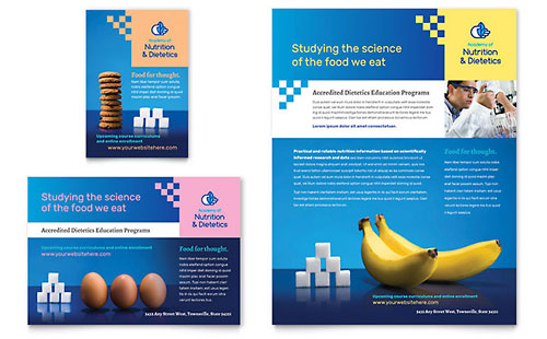 Dietitian - Flyer & Ad Template