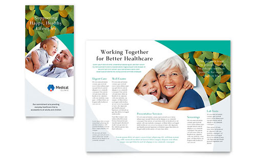 Doctor's Office Brochure Template - Pages