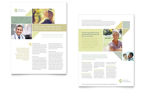 Health Insurance Sales Sheet Template
