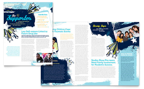 Child Advocates Newsletter Template