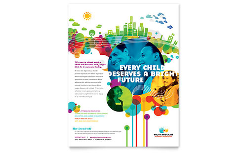 Youth Program Flyer Template