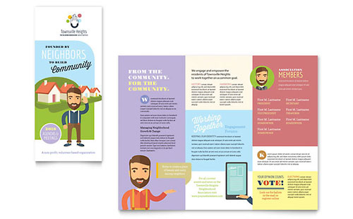 Homeowners Association Brochure Template