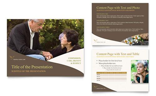 Memorial & Funeral Program PowerPoint Presentation Template
