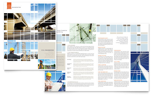 Civil Engineers - Brochure Template