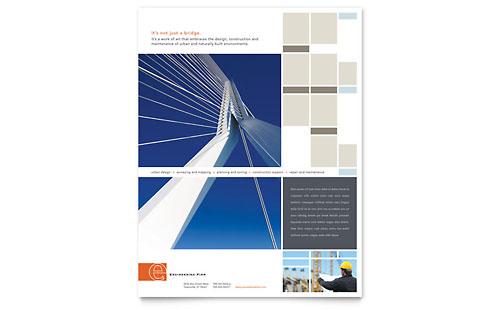 Civil Engineers - Flyer Template