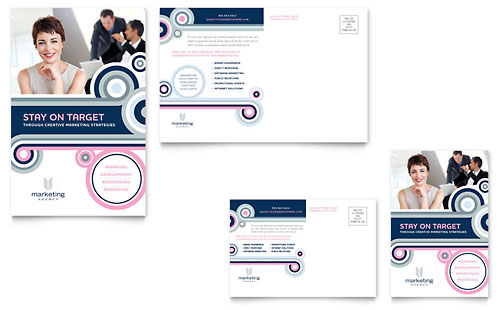 Custom Card Template advertising cards templates : ... buy 3 templates and save 50 % template details marketing agency