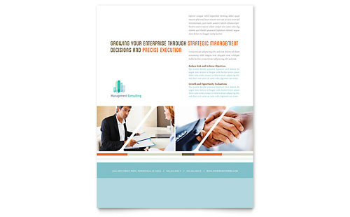 Management Consulting - Flyer Template