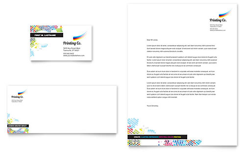 Professional Services Letterheads – Letterhead Format for Company