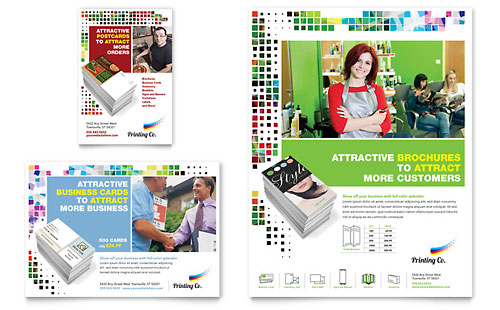 Printing Company Flyer & Ad Template