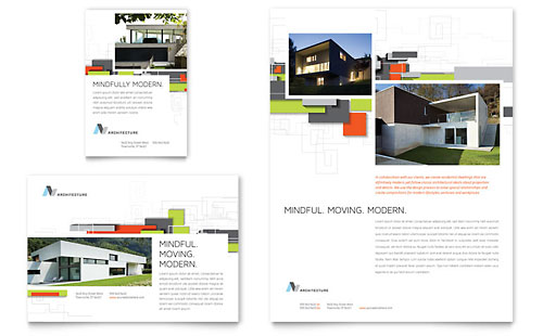 Architectural Design Flyer & Ad Template