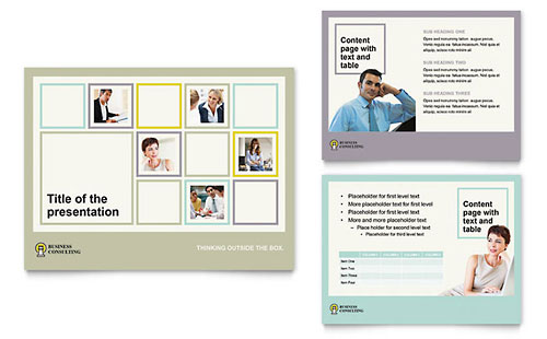 Business Consultants PowerPoint Presentation Template
