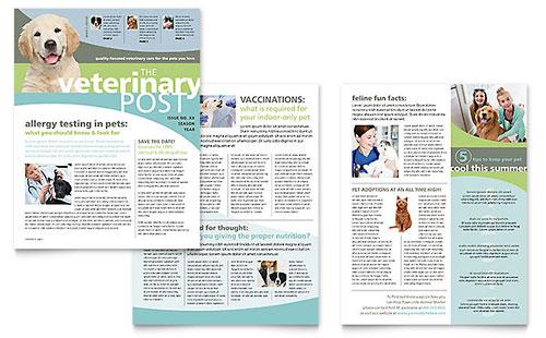 Vet Clinic Newsletter Template