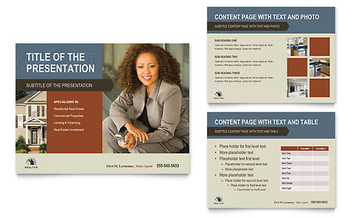 Residential Realtor PowerPoint Template