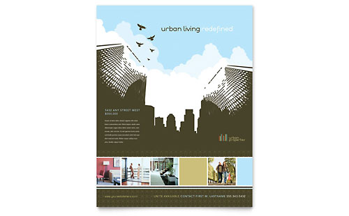 Urban Real Estate - Flyer Template