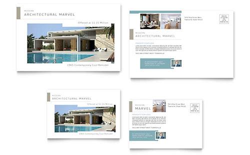 Modern Real Estate Postcard Template