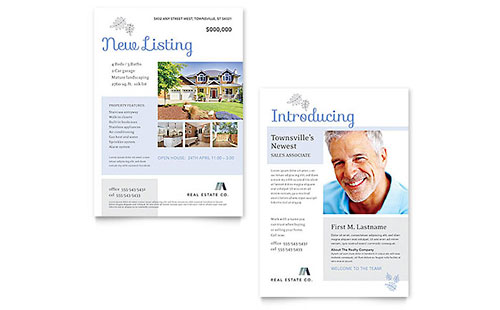 Real Estate Listing Announcement Template