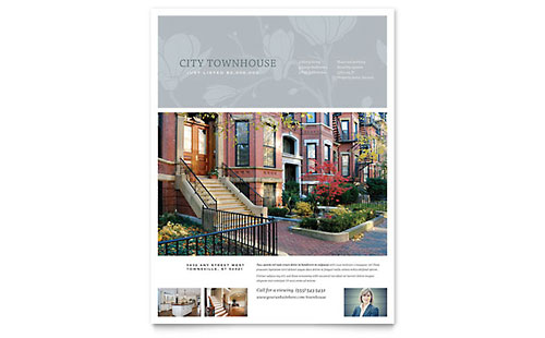 Townhouse - Flyer Template