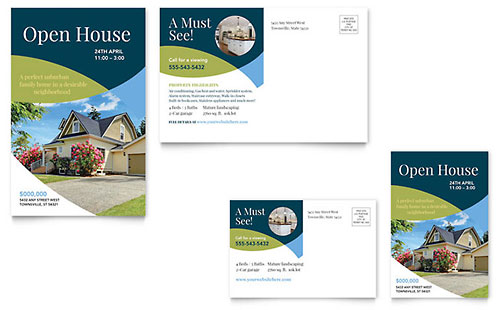 For Sale by Owner Postcard Template