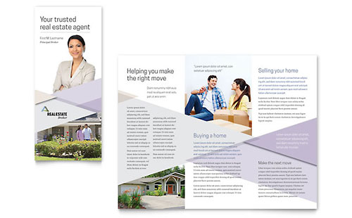 Realtor Brochure Template