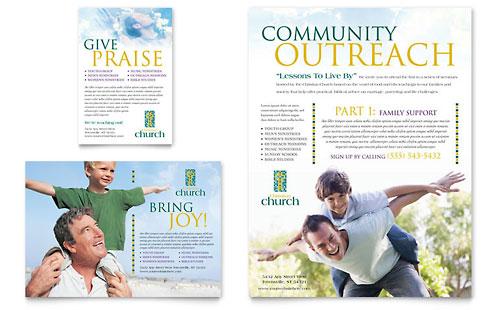 Christian Church Flyer & Ad Template