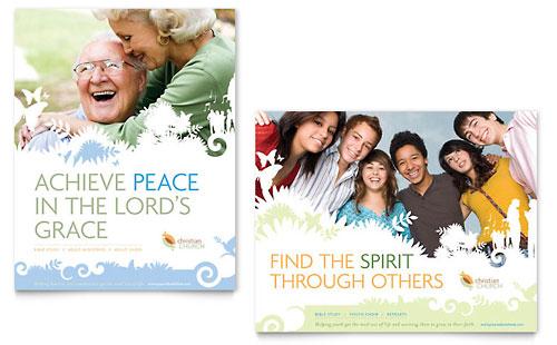 Christian Church Poster Template