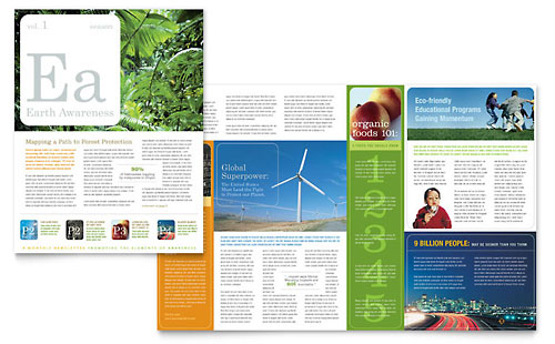 Environmental & Agricultural Non Profit Newsletter Template