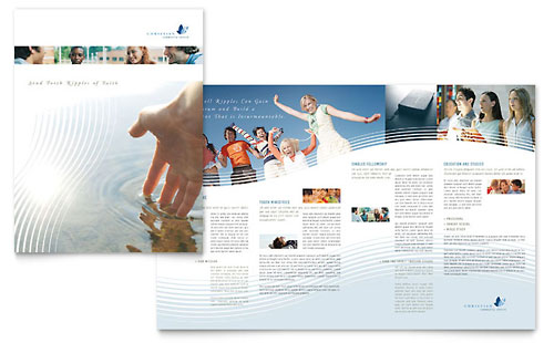 Christian Ministry Brochure Template