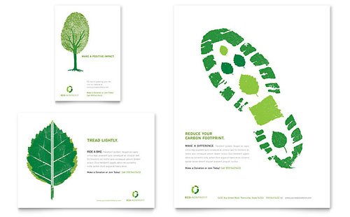 Environmental Non Profit Flyer & Ad Template