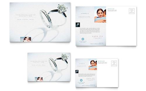 Jeweler & Jewelry Store - Postcard Template