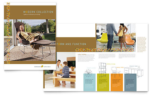 Furniture Store - Brochure Template