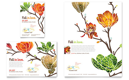 Flower Shop - Flyer & Ad Template