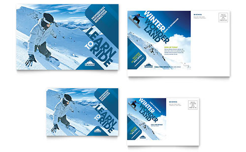 Ski resort graphic designs templates for Ski designhotel
