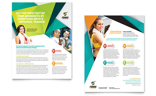Fitness Trainer Datasheet Template
