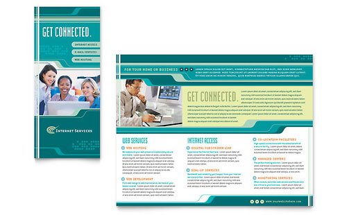 Internet Service Provider Brochure Template