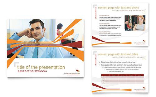 Software Developer PowerPoint Presentation Template