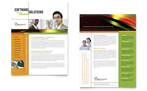 Internet Software Datasheet Template